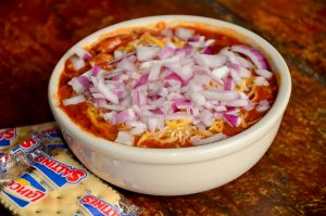 Bowl of Chili (With Onion & Cheese Up Charge $.90)